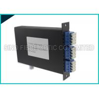 Quality 4 Channels Fiber Optic Simplex Directional CWDM DEMUX LGX Cassette wholesale