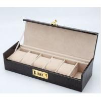 6 Watch Box With Lock