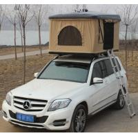 Quality Fiberglass Hard Shell Pop Up Tent , Truck Bed Hard Top Tent With Sponge Mat wholesale
