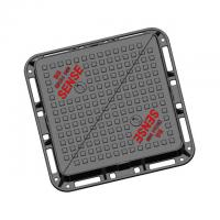 China EN124 D400 Triangular Manhole Cover Double Triangle Solid Top AX6060DT Urban Drainage System on sale