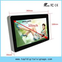 Quality 10 inch desk menu digital display, small size digital signage player,support WIFI/3G wholesale
