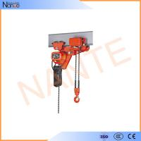 Quality Low Headroom Electric Chain Hoist Wire Rope For Production Line wholesale