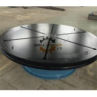 Quality Heavy Duty Welding Turn Table Infinitely Variable Rotation Speeds For Automatic Welding wholesale