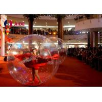 Quality Customized Human Sized Hamster Ball , Inflatable Human Hamster Ball wholesale
