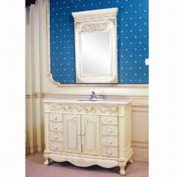 Quality Bathroom Vanity, Two Solid Wood Doors with Soft-close Hinges wholesale