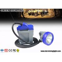 Quality 10000 Lux cree led explosion proof cable cord carbide lamp rechargeable IP68 water proof wholesale