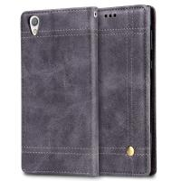 Quality Book Cover Sony Xperia Protective Case , Screen Protection Sony Xperia L Flip Cover wholesale