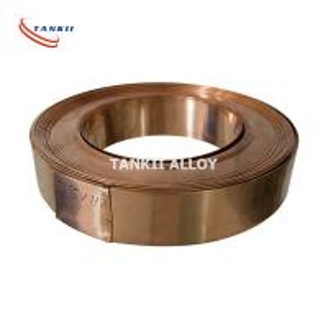 Quality Cu86Mn12Ni Precision Alloy Manganin Copper Alloy Strip Customized Size wholesale