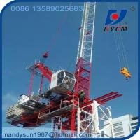 Quality D5030 Luffing Jib 50m Jib Length Tower Crane with 2*2*3m Split Mast Section wholesale