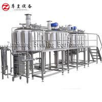 China 1000L - 2000L Commercial Beer Brewing Equipment For Micro Brewery Beer Factory on sale