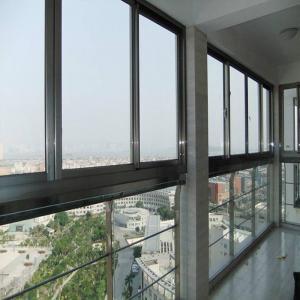 Quality Durable Horizontal Aluminium Sliding Windows Sound Insulation Waterproof wholesale