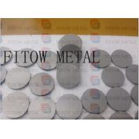 Quality stainless steel powder sintered filter disc for liquid filtration wholesale