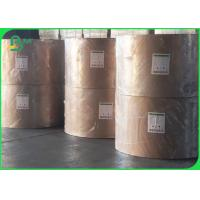 Quality FDA Direct Food Compliant PE Coated White Kraft Paper For Fast Food Packaging wholesale