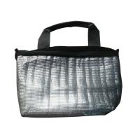 Quality Reusable Water Proof 600D Oxford Black Fabric Thermal Insulated Cooler Bags For Food wholesale