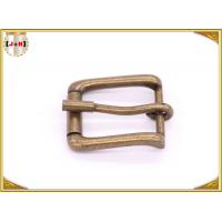 Quality Antique Brass Rolling Custom Metal Bag Buckle , Handbag Making Accessories wholesale