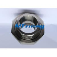 China ASTM A182 / A105 F321 High Pressure Pipe Fittings , Stainless Steel Forged Union on sale