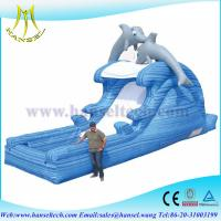 Quality Hansel inflatable slide for,jumping animal toy,inflatable pool islands wholesale