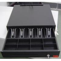 Cheap Black Color Finish Metal Mini Cash Register Drawer Lock Box For POS Systems for sale