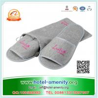 China High Quality Disposable Hotel Slippers with EVA or Anti-slip dots sole on sale