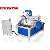 Buy cheap ELE 9015 Aluminum Cutting Machine , advertising 4 axis wooden door cnc router from wholesalers