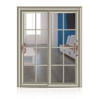Quality Customized Aluminium Frame Glass Door Waterproof For Top Grade Village House wholesale
