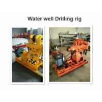 GK-200 Core Drill Rig 220v 1730 * 860 * 1360 Dimension Deep Well Drilling Machine