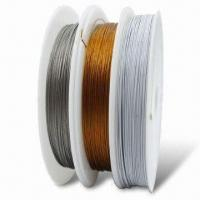 China Tigertail Stainless Steel Beading Wire Coated, with Nylon on sale