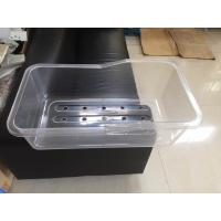 Quality Medical Grade Plastics Transparent Baby Bath Basin And Spare Part For Hospital Baby Cart wholesale