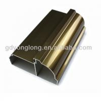 Quality Guangdong 6063 Customized Champagne Aluminium Kitchen Profile Extruded Kitchen Furnitures In Different Surface wholesale