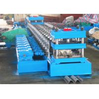 Quality Efficient Highway Guardrail Roll Forming Machine W Beam / Thrie Beam Panels Usage wholesale