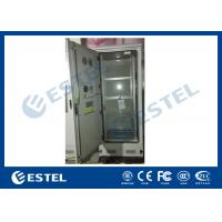 Quality Custom 4 Shelves Outdoor Battery Cabinet Galvanized Steel 5% - 100% Relative Humidity wholesale