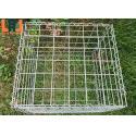 Stianless Steel 1x1x1m Gabion Wire Mesh Welded Mesh Gabion Box for sale