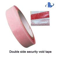 Double Sided Adhesive Security Packing Tape For Bank Cash Deposit Bags