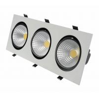 Quality 120° 9w Recessed Led Downlights For Ceiling Aluminum 50hz / 60hz Eco Friendly wholesale