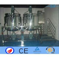 Large Capacity Stainless Steel Mixing Tank With Agitator Surface Polished