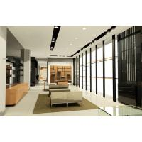 Cheap Men's Cloth Store in Modern interior design by wood furniture display counters and wall cabinet for sale