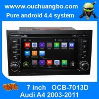 China Ouchuangbo Car Stereo DVD System for Audi A4 2003-2011 Android 4.4 3G Wifi Bluetooth TV Audio Player OCB-7013D on sale