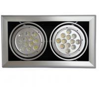 Quality 24Watt Bridgelux Led Grille Spot Light Longlife 120 Lm For Halogen Light Bulbs wholesale