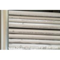Quality Heat Exchanger Seamless Stainless Steel Tube OF ASME SA213 TP316 / 316L. wholesale