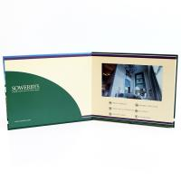 Quality Video in folder Free Sample Limited Automatic opening veremonies lcd video brochure card with multimedia effect wholesale