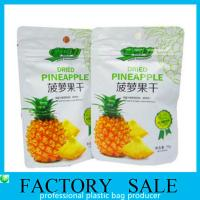 Buy cheap Aluminum Foil Plastic Food Bags , Dehydrated Fruits Packaging Doypack Pouch product