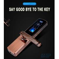 Quality Keyless Security Mortise Intelligent Biometric Electronic RF ID Card Home Smart Code Fingerprint Door Lock China wholesale