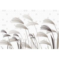 Quality Lightweight Bamboo Fiber Wall Decor Panels Reeds In Wind 8mm Thickness wholesale