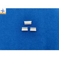 Quality White Wire Board Connector With Phosphor Bronze 1mm Without Mating Lock wholesale