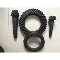 High Rigidity Crown Wheel And Pinion Gear , Spiral Differential Ring Gear