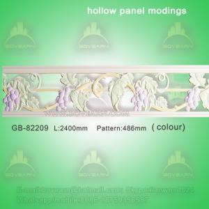Quality Polyurethane Decorative center hollow mouldings for light transmission wholesale