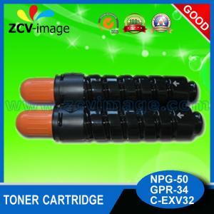 Quality Black canon Toner Suppliers for NPG-50, GPR-34, C-EXV32 wholesale