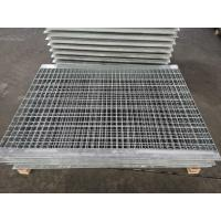 China 19x3mm Galvanized Steel Grating High Tensile Fan Combination Shape on sale