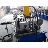 Quality Solar Strut Channel Cold Roll Forming Machine With Servo Feeding Device & Press Punching Machine wholesale