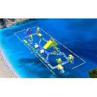 Buy cheap Big Inflatable Sea Floating Water Park Games / Inflatable Water Floating Playground product